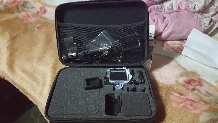 摄徒 收纳包Gopro HERO3/4 山狗运动相机小蚁运动摄像机配件大中小收纳包 大号 晒单图