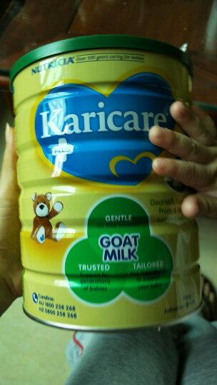 澳洲可瑞康(Karicare)婴幼儿羊奶粉2段(6-12月)900g 新西兰原装进口 晒单图