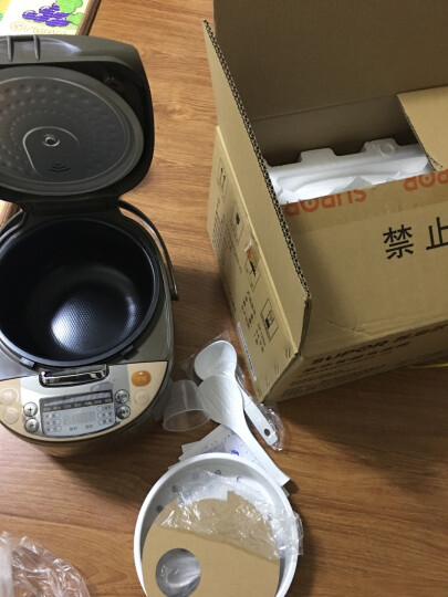 苏泊尔(SUPOR)电饭煲电饭锅4L容量 陶晶内胆拉丝金属机身CFXB40FC833-75 晒单图