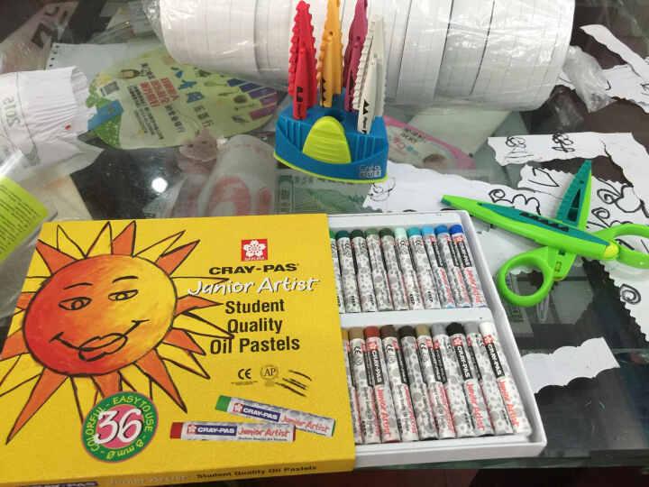 樱花油画棒XEP36色50色 25色12色16色幼儿童软蜡笔儿童油画棒开学儿童彩色绘画涂鸦彩棒包邮 36色油画棒 晒单图