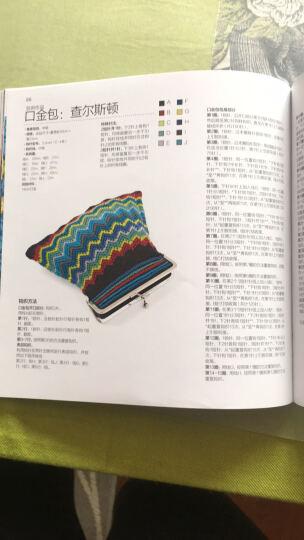 100彩虹钩针:毛毯 披肩 手包 靠垫 晒单图