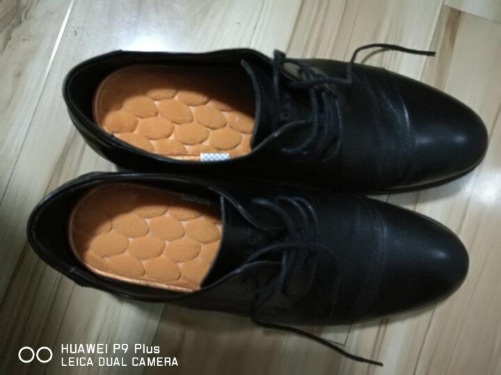 邦尼世家保暖鞋垫男女加厚软羊绒防臭羊毛冬季保暖鞋垫 深咖黄金茧5双装 42 晒单图