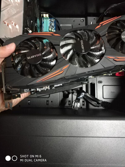 技嘉(GIGABYTE)GeForce GTX 1070 G1 GAMING 1594-1784MHz/8008MHz 8G/256bit绝地求生/吃鸡显卡 晒单图