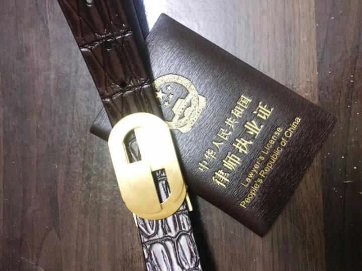 证件套牛皮律师证件套外皮商务皮套男女律师证保护套针纹防刮律师执业证件夹皮夹 黑色 晒单图