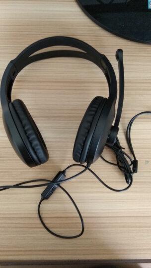 漫步者(EDIFIER)K800 高品质游戏耳机 电脑耳机 电脑耳麦 黑色 晒单图