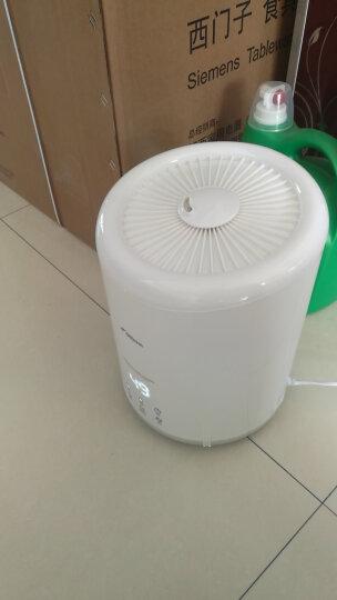 德尔玛(Deerma)加湿器 4L大容量 上加水智能恒湿 空气净化加湿器卧室家用香薰 DEM-ST900S(象牙白) 晒单图