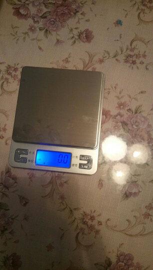 骏缘电子称 厨房秤 精准0.01g珠宝秤烘焙电子秤称重电子称0.1g克重克数秤克度秤天平秤 中文3公斤/0.1克/双托盘 晒单图