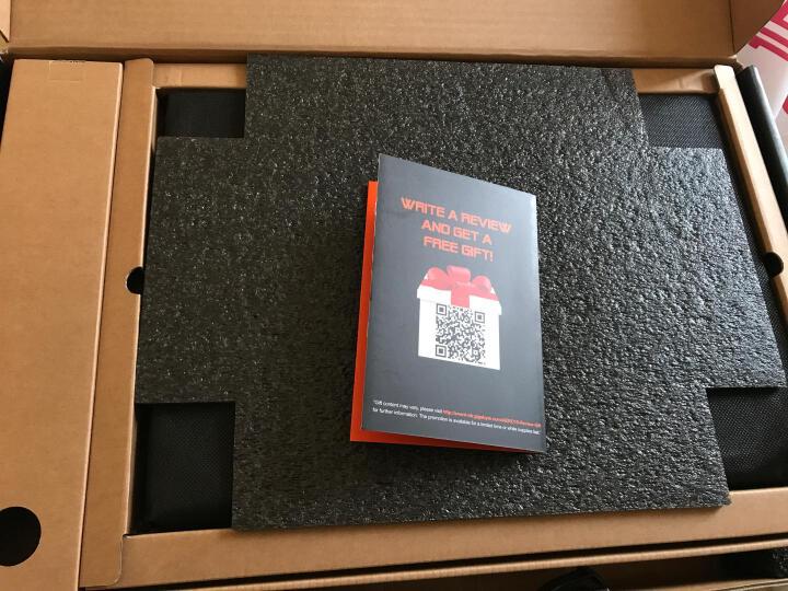 技嘉(GIGABYTE)赢刃Aero15 15.6英寸窄边框长续航轻薄游戏本(i7-7700HQ 8GB 512G NVMe SSD GTX1060 6GB)橙 晒单图