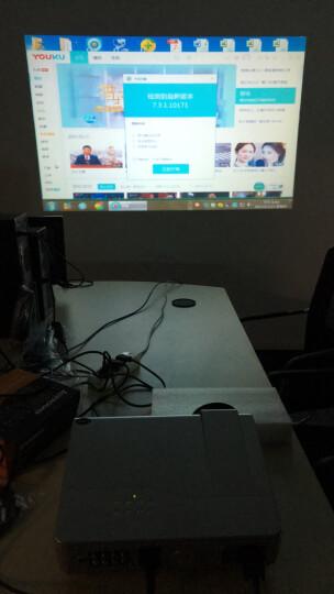 福满门(Fumen) 福满门 B100-BA 高清外置wifi 投影仪LED投影机 办公 银色官方标配 晒单图
