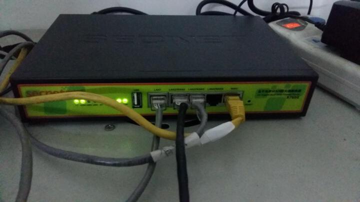 安网(SECNET)企业千兆路由器 游戏有线商用路由plus尊享智能限速宽带叠加别墅光纤R760G 晒单图