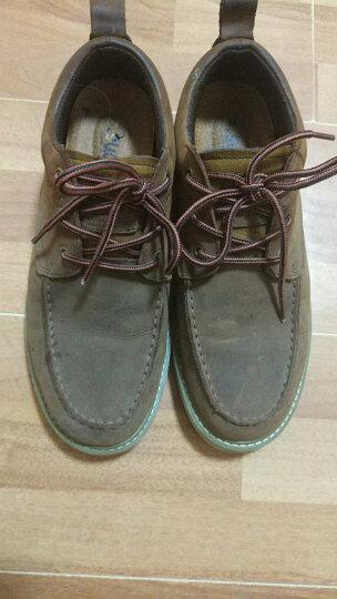 走索(Z.Suo)男鞋休闲鞋复古韩版男靴子英伦马丁靴户外 疯马棕 44标准皮鞋码 晒单图