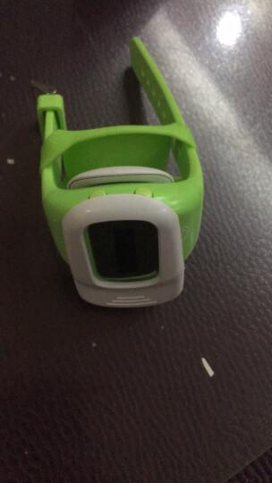 葫芦娃儿童智能手表金星V11/G1电信版GPS定位电话手表防水可插卡智能手机防走失 电信版荧光绿 晒单图