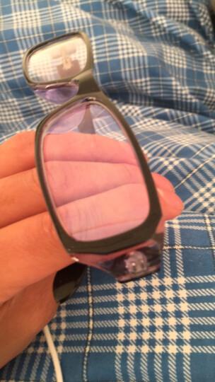 百飒(BYZA)防辐射眼镜 防近视平光镜 全框男女款 通用潮流眼镜架防蓝光电脑游戏护目镜 大号-磨砂黑-防辐射平光镜 晒单图