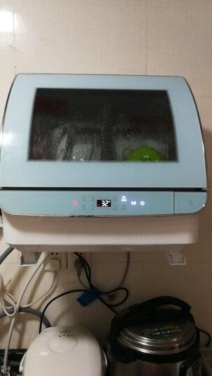 海尔(Haier)小海贝 洗碗机 家用台式 免安装6套 一键智能洗碗机HTAW50STGGB 晒单图