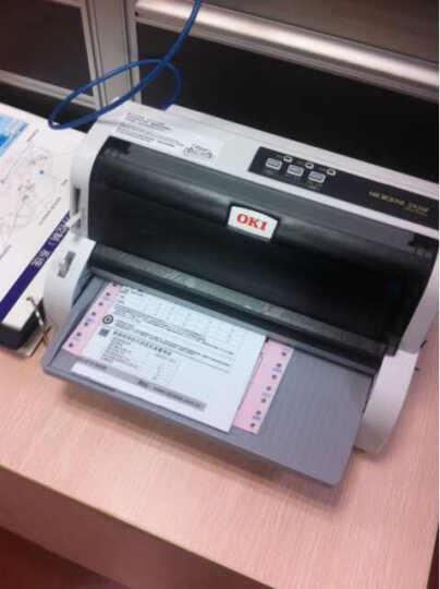 OKI5920F 平推票据打印机 税控发票打印 快递单打印机(82列平推) 官方标配 晒单图