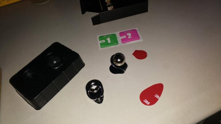 汽车载手机支架磁吸性中控台多功能通用导航支架家车两用型6001 商务黑 晒单图
