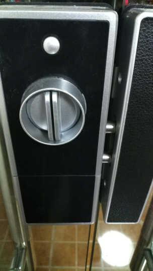 玛莎洛克 【免开孔包安装】德国办公室玻璃门指纹锁智能锁密码刷卡单双开电子遥控门锁MS-O9 单开门(密码+刷卡) 晒单图