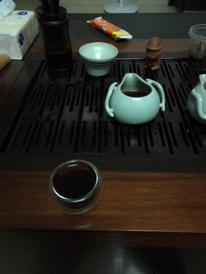 行吉茶业 云南普洱茶熟茶普洱茶饼普洱茶砖古树普洱茶叶357g 晒单图