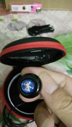 orphyer 520超小迷你无线蓝牙耳机4.1苹果手机电脑笔记本通用运动跑步入耳式耳塞 黑色 晒单图