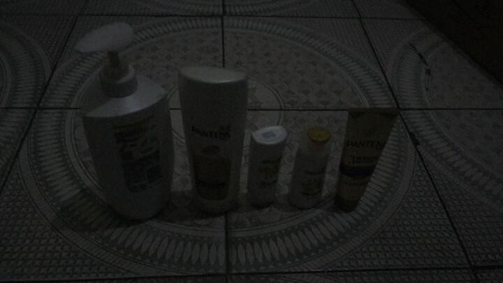 潘婷洗护套装乳液修护(洗发水750ml+护发素400ml)送洗80ml*2+发膜70ml(秀发能量水 新老款随机发) 晒单图