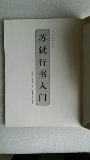 书法自学丛帖:苏轼行书入门 晒单图