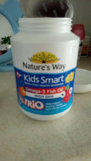 佳思敏Nature's way 深海dha儿童鱼油胶囊 180粒/瓶  6个月以上 三口味合装 佳思敏鱼油 晒单图