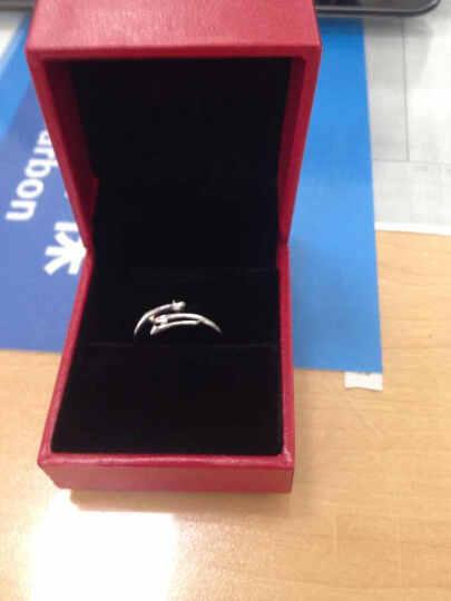 炫银部落 925银十二星座戒指 情侣对戒 开口设计 韩版银饰 时尚饰品 3006006 狮子座 晒单图