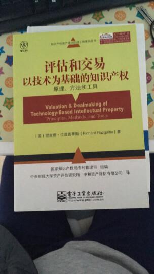评估和交易以技术为基础的知识产权:原理、方法和工具 晒单图