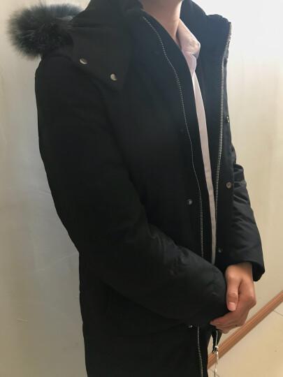 波司登男装 羽绒服男 轻薄修身短款男士外套毛领保暖加厚纯色连帽中长款羽绒服男 灰色611 190/3XL 晒单图