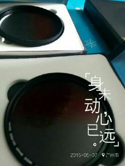 缔造者(DIZA) 缔造者超薄圆形渐变镜 特效滤镜  单反配件49/52/55/58/67/77mm 超值四色套装 62mm 晒单图