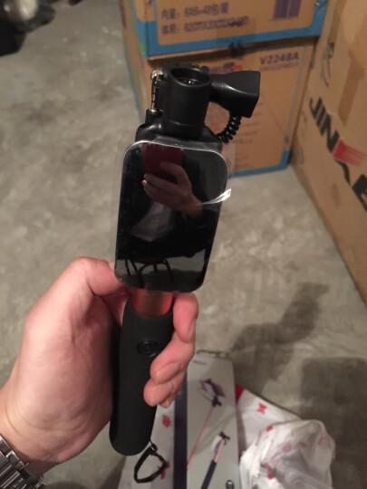 洛克(ROCK)迷你线控自拍杆/自拍神器 轻巧便携大镜面后视镜视频拍照 适用苹果/华为/OPPO/小米/ViVO 粉色 晒单图