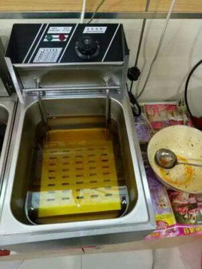 油炸炉商用电炸炉家用油炸锅电炸锅 单缸 晒单图