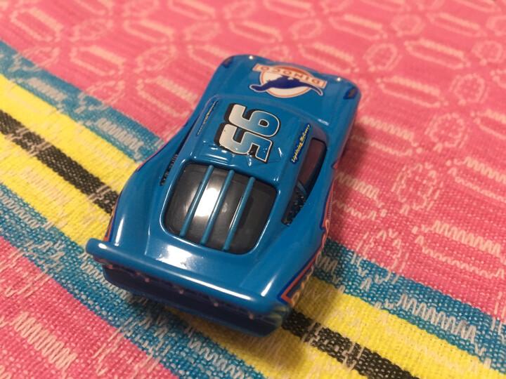 汽车总动员3赛车迈斯黑风暴酷姐合金玩具车模型惯性车麦昆板牙法兰斯高等稀有款 蓝天博士涂装 晒单图