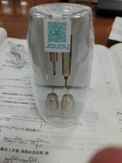 荣耀原装三键线控防缠绕入耳式高保真立体声引擎耳机PLUS (香槟金)适用于华为荣耀手机 晒单图