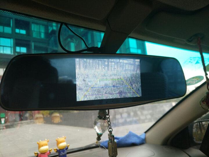 行车记录仪高清 后视镜 倒车影像一体机可选导航电子狗 5英寸双镜头电子狗一体机+32G内存卡 晒单图