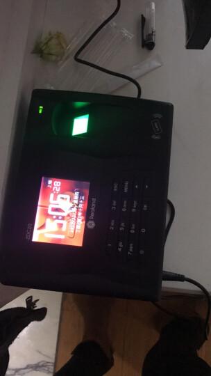 真地(Realand)F300人脸指纹感应卡考勤机/面部指纹混合识别/人脸指纹刷卡触摸屏打卡机/速度快/大容量/触摸屏 晒单图