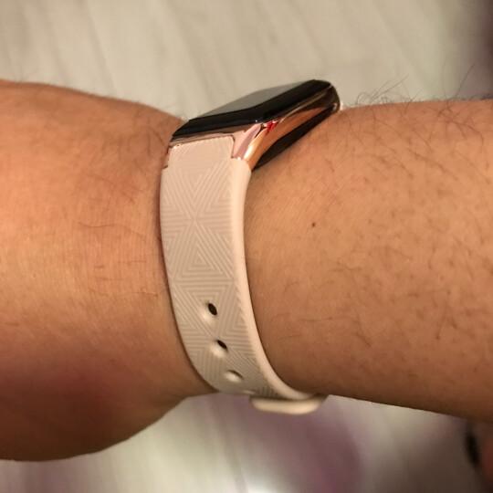 即诺 X1智能手环彩屏心率血压男女计步器穿戴运动腕表苹果魅族小米华为三星手机通用 红色(曲面屏+心率血压+提醒) 晒单图