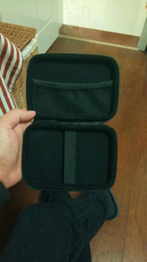 希捷(SEAGATE)2.5英寸 移动硬盘包 硬壳防震包防水防摔原装硬壳包2.5英寸保护套包 蓝色 晒单图