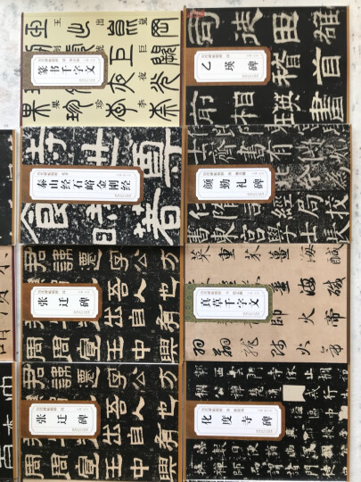 历代碑帖精粹·元:赵孟頫真草千字文 晒单图