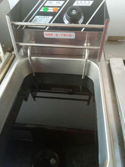 艾士奇(AISHIQI) 艾士奇电炸炉商用 单双缸加厚小吃油炸锅 炸串 炸薯条机 炸鸡排 煮面炉+关东煮 晒单图