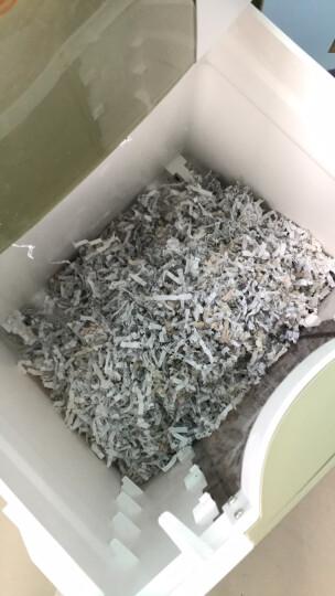 盆景(bonsaii)4级保密办公商用碎纸机(单次8张 连续40分钟 16L 可碎卡、光盘、订书针)7128 晒单图
