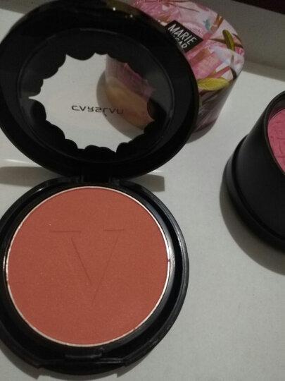 卡姿兰(Carslan)花漾嫩色胭脂04#小粉橙6.5g(持久 自然贴合 清透 裸妆) 晒单图