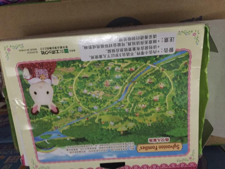 森贝儿家族日本品牌公主玩具女孩娃娃屋仿真森林家族过家家场景植绒人偶-宝宝浴室套SYFC22338 晒单图