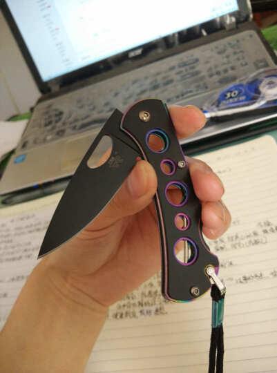 三刃木 工具刀 7081BUI-SHX 原781(户外探险折叠刀、救生军刀、多用途工具刀) 晒单图