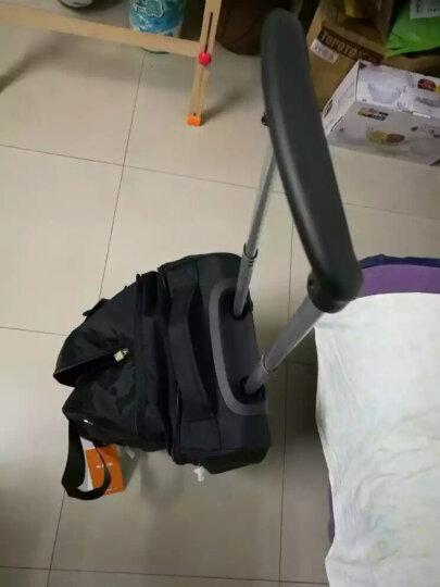 卡拉羊新款潮拉杆包男女旅行包拖轮包大容量防水手提20寸登机包行李包手拉包C8430 黑色 晒单图