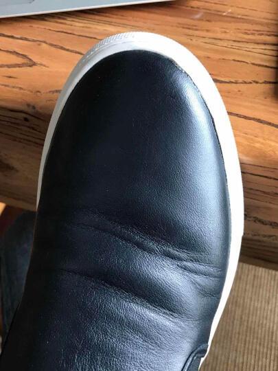 BALLY 巴利 男士牛仔蓝色羊皮休闲男鞋 HERALD 深蓝色206 7.5码(41.5) 晒单图