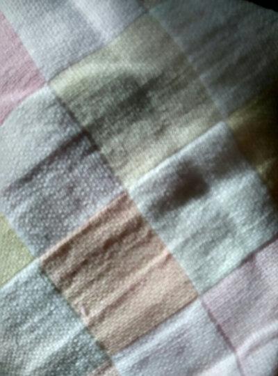 纤丝鸟(TINSINO) 婴儿衣服儿童内衣男女童纯棉套装上衣裤子宝宝秋衣秋裤 白色笑脸-浅绿 110 晒单图
