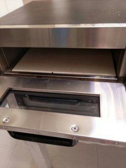 悍舒 电烤箱商用烤炉单双层不锈钢烘焙设备2000W大功率 高聚能双层 晒单图