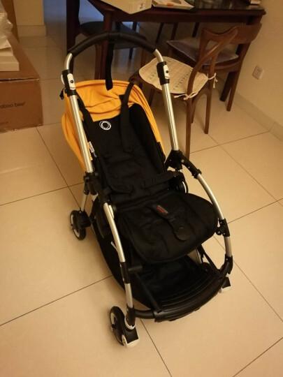 Bugaboo 博格步 bee5 德国进口婴儿推车高景观避震折叠童车 包邮包税 bee5黄色 白色架 晒单图