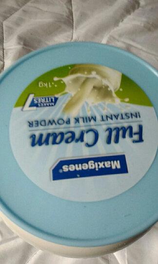澳洲美可卓(Maxigenes)大胖奶蓝胖子全脂脱脂高钙牛奶粉 羊奶粉 大胖奶蓝胖子高钙儿童成人中老年牛奶粉1kg/罐*6 晒单图